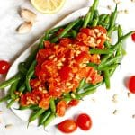 Italian Green Beans with Tomatoes and Garlic