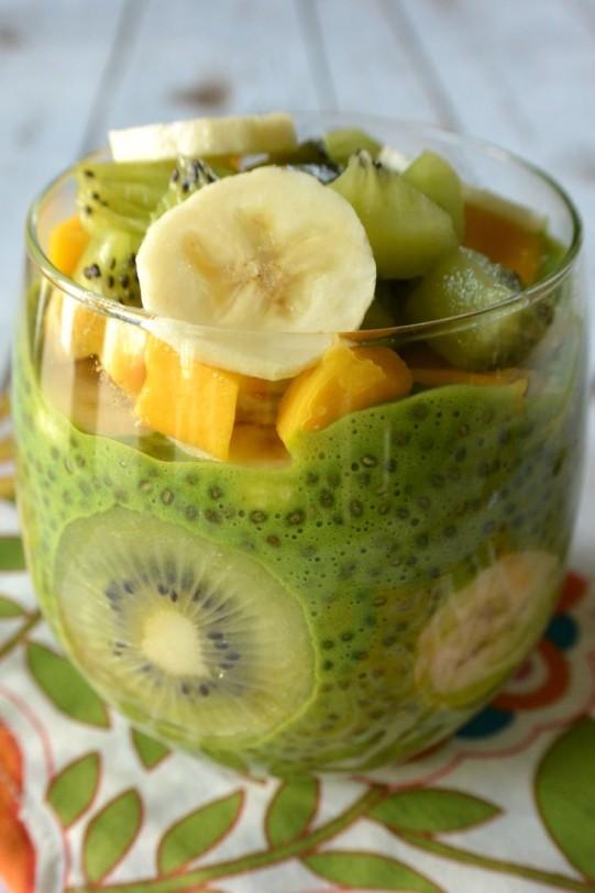 Green Chia Pudding Healthy Amp Sugar Free