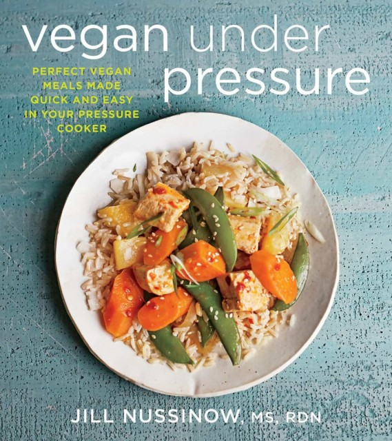 Jill Nussinow provides lots of delicious quick and easy recipes to make in a pressure cooker in her latest book Vegan Under Pressure.