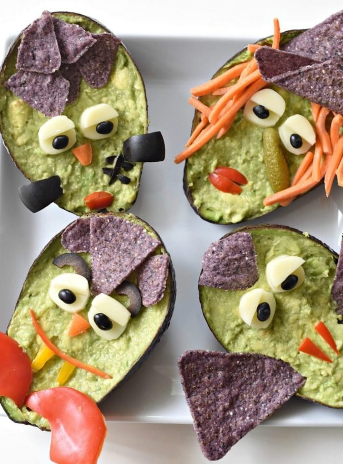 Halloween GuacaMonsters by Cara of Fork & Beans