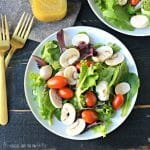 Salad with Dijon Mustard Vinaigrette