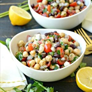 Middle Eastern Bean Salad (Balela)