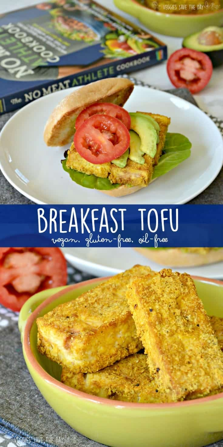 Breakfast Tofu is one of many easy, healthy, whole food, plant-based recipes from The No Meat Athlete Cookbook. It's gluten-free, oil-free, and vegan.