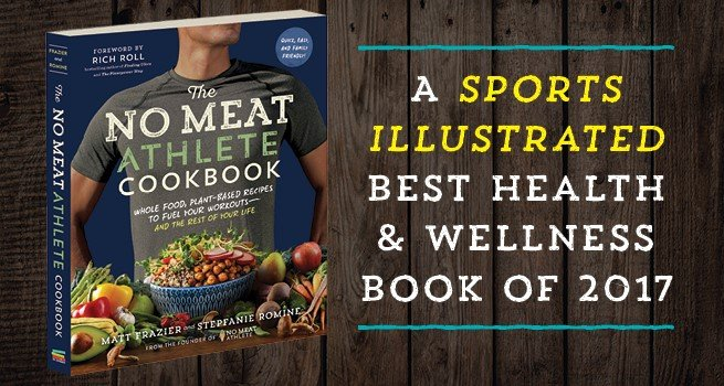 The No Meat Athlete Cookbook was named A Sports Illustrated Best Health and Wellness Book of 2017.