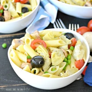 Marinated Artichoke Hearts Pasta Salad