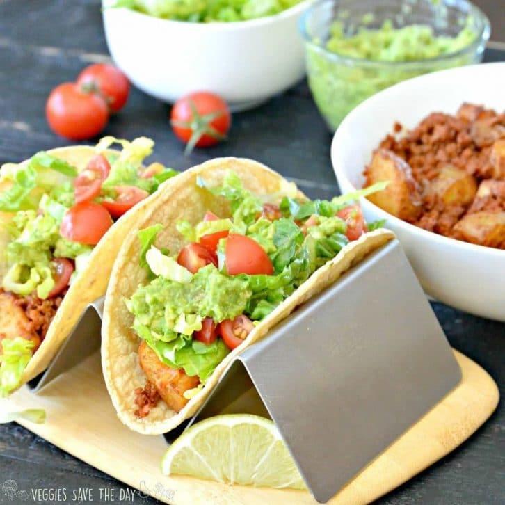 Soyrizo Potato Tacos (Vegan)