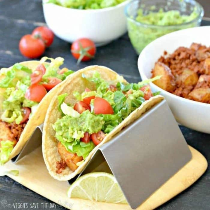 Soyrizo Potato Tacos (Vegan)