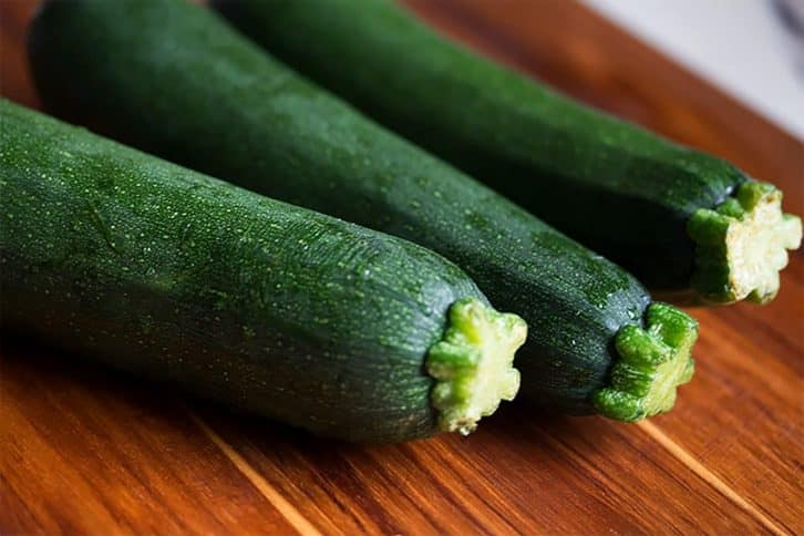 Courgette for Zucchini Chickpea Stew