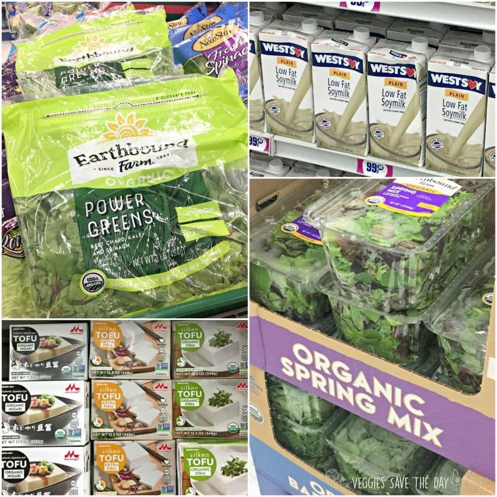 Organic non-GMO foods found at the 99