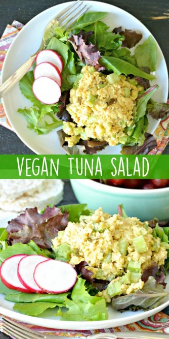 Vegan tuna salad for Tuna fish salad calories