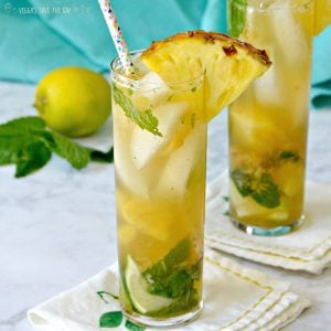 Fresh Pineapple Mojito
