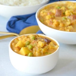 Chickpea Curry (Frugal Vegan)