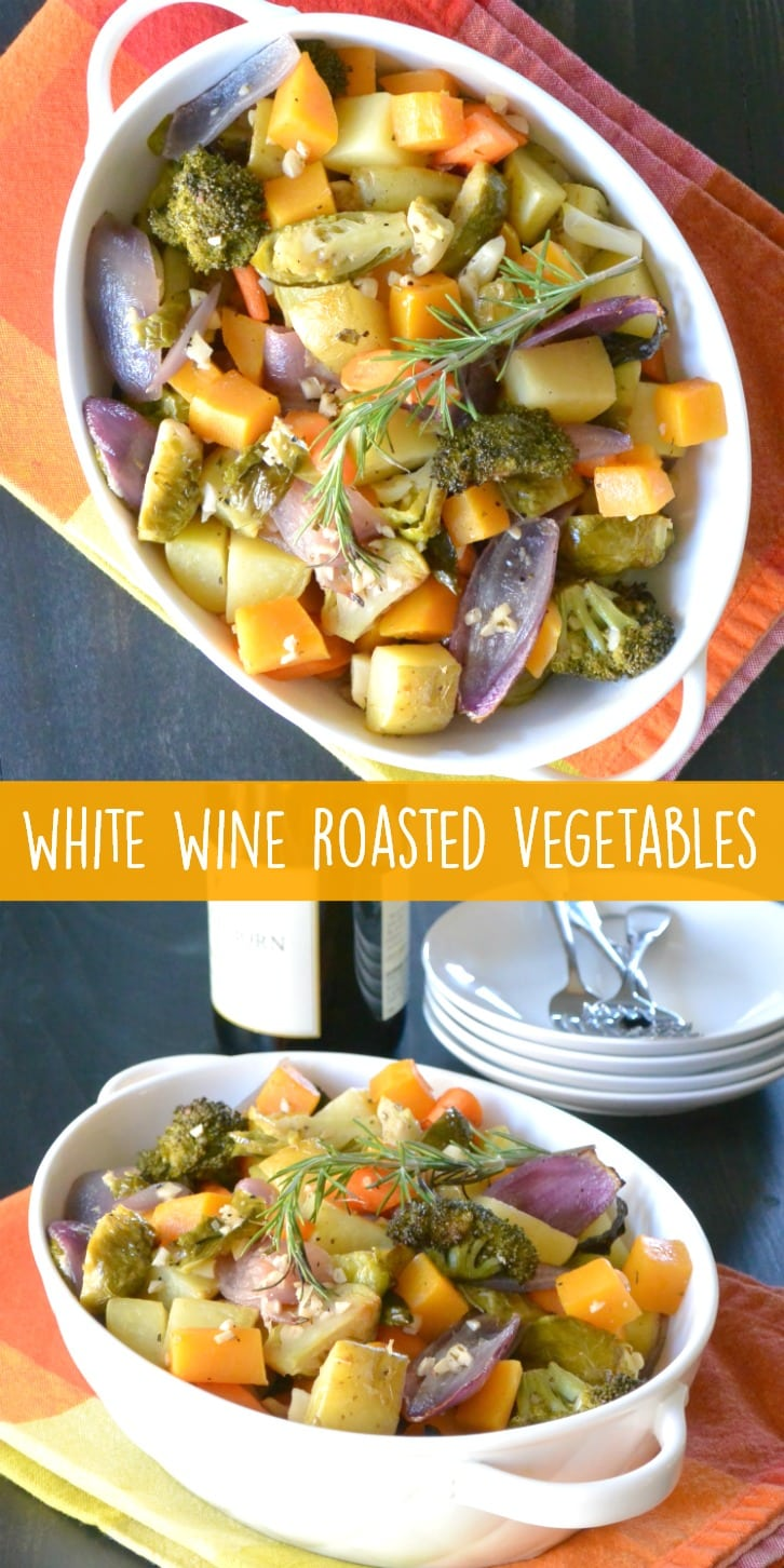 Combine your favorites with garlic and rosemary for a delicious side dish. (Msg for 21+) https://ooh.li/552b158 #ad #GroceryOutletWineSale #GroceryOutlet #vegetables #wine #vegan #glutenfree