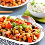 Chickpea Stir Fry (Oil-Free)