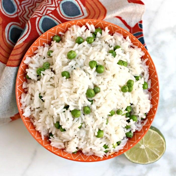 Coconut Jasmine Rice Instant Pot Recipe Veggies Save The Day