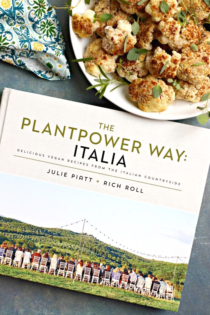 Blackened Balsamic Cauliflower (vegan and gluten-free) from The Plantpower Way: Italia by Julie Piatt and Rich Roll