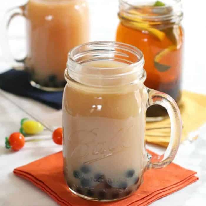 How To Make Vegan Boba Tea