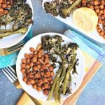 Sheet Pan Dinner with Broccolini and Chickpeas