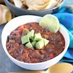 Easy Black Bean Chili (Vegan)