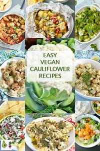 Easy Vegan Cauliflower Recipes
