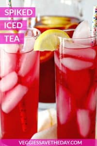 Spiked Iced Tea Cocktails