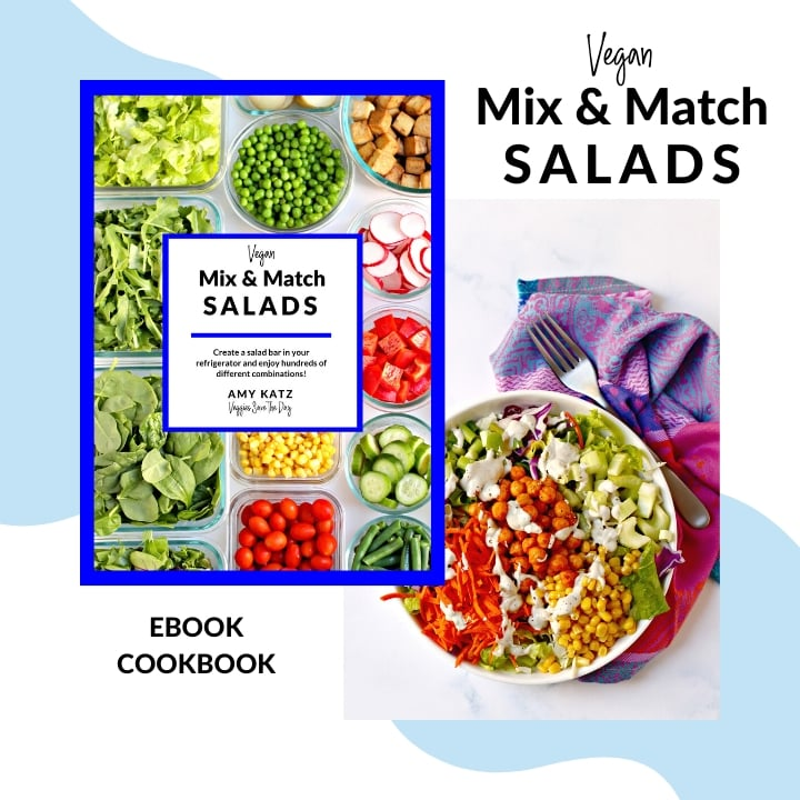 Vegan Mix & Match Salads ebook cookbook