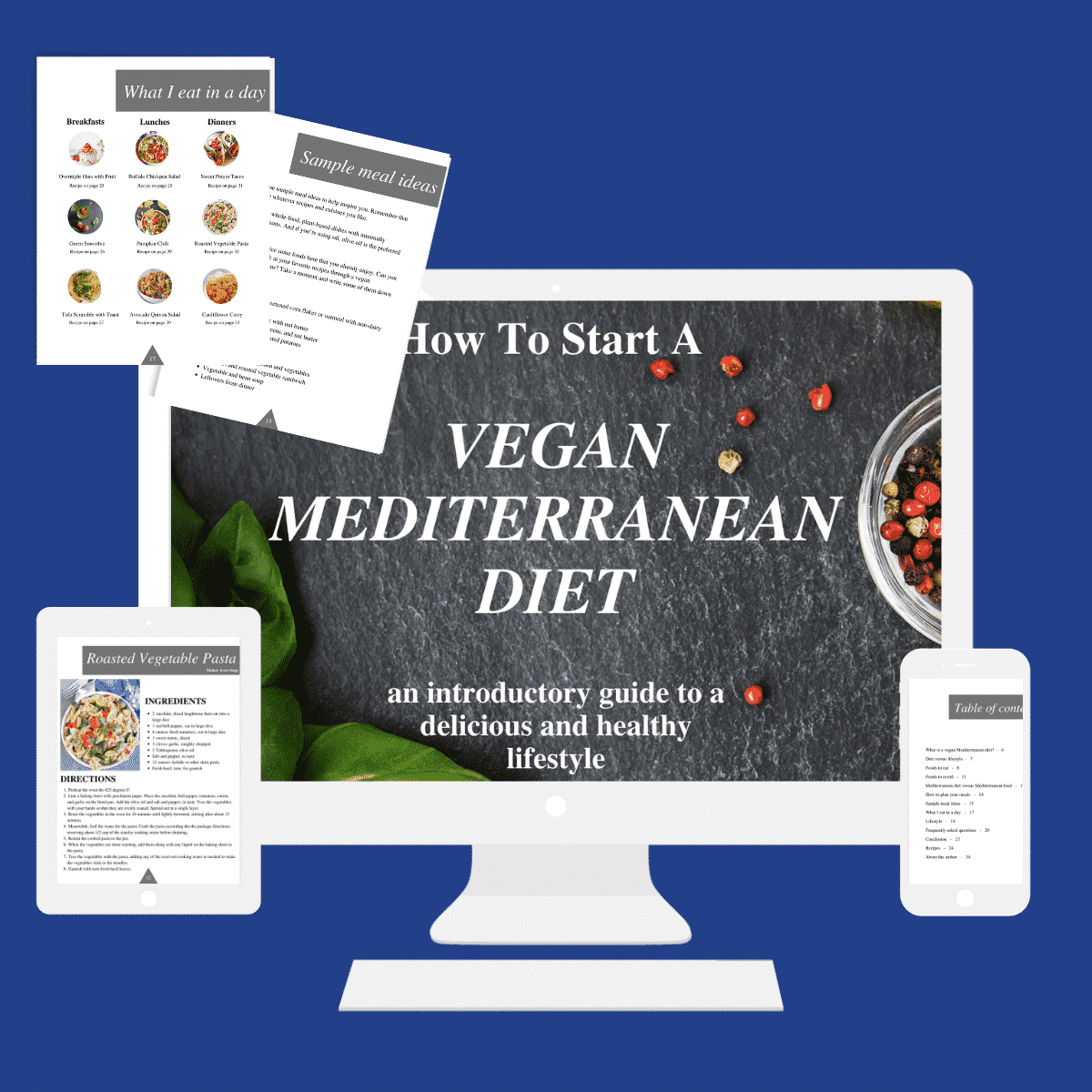 eBook How To Start A Vegan Mediterranean Diet