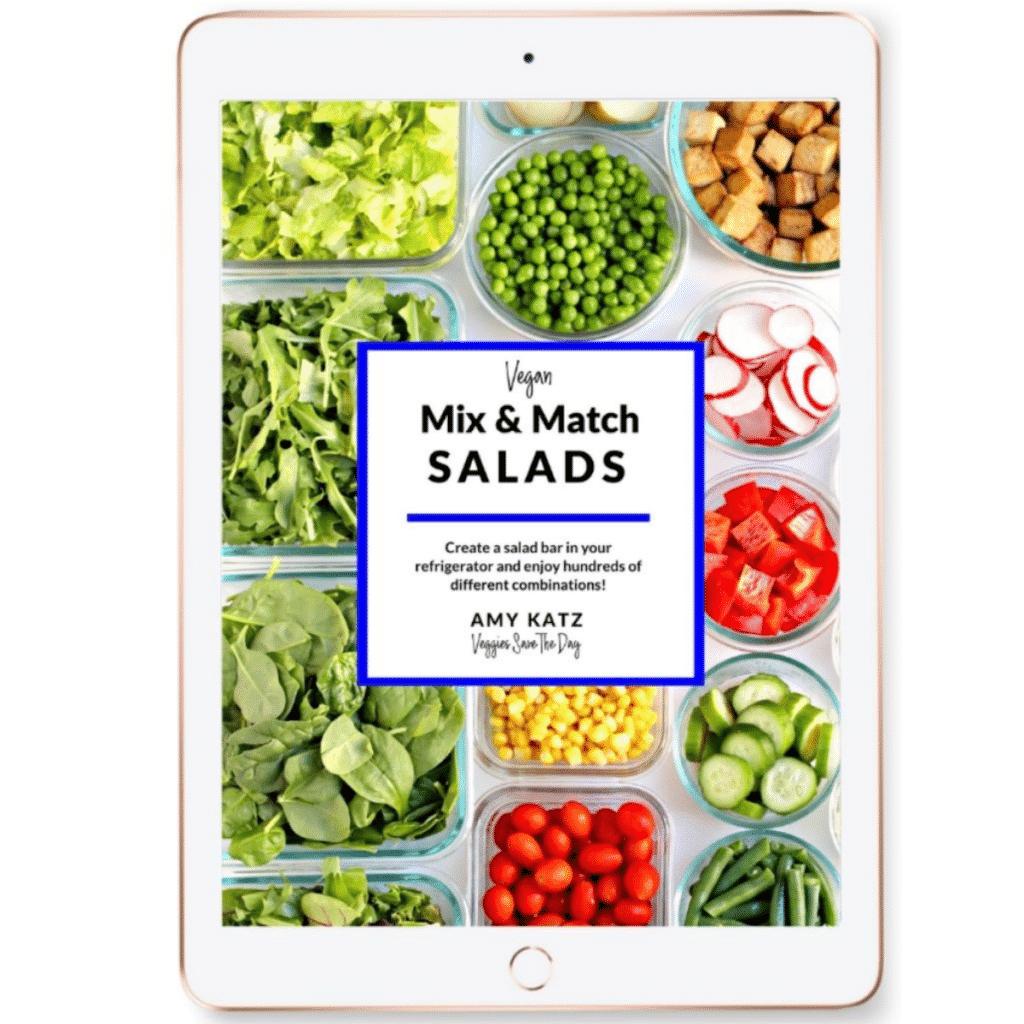 Cover of Vegan Mix & Match Salads eBook