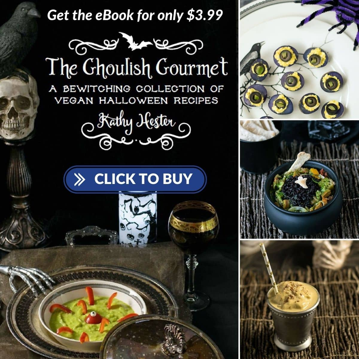 Images from The Ghoulish Gourmet eBook