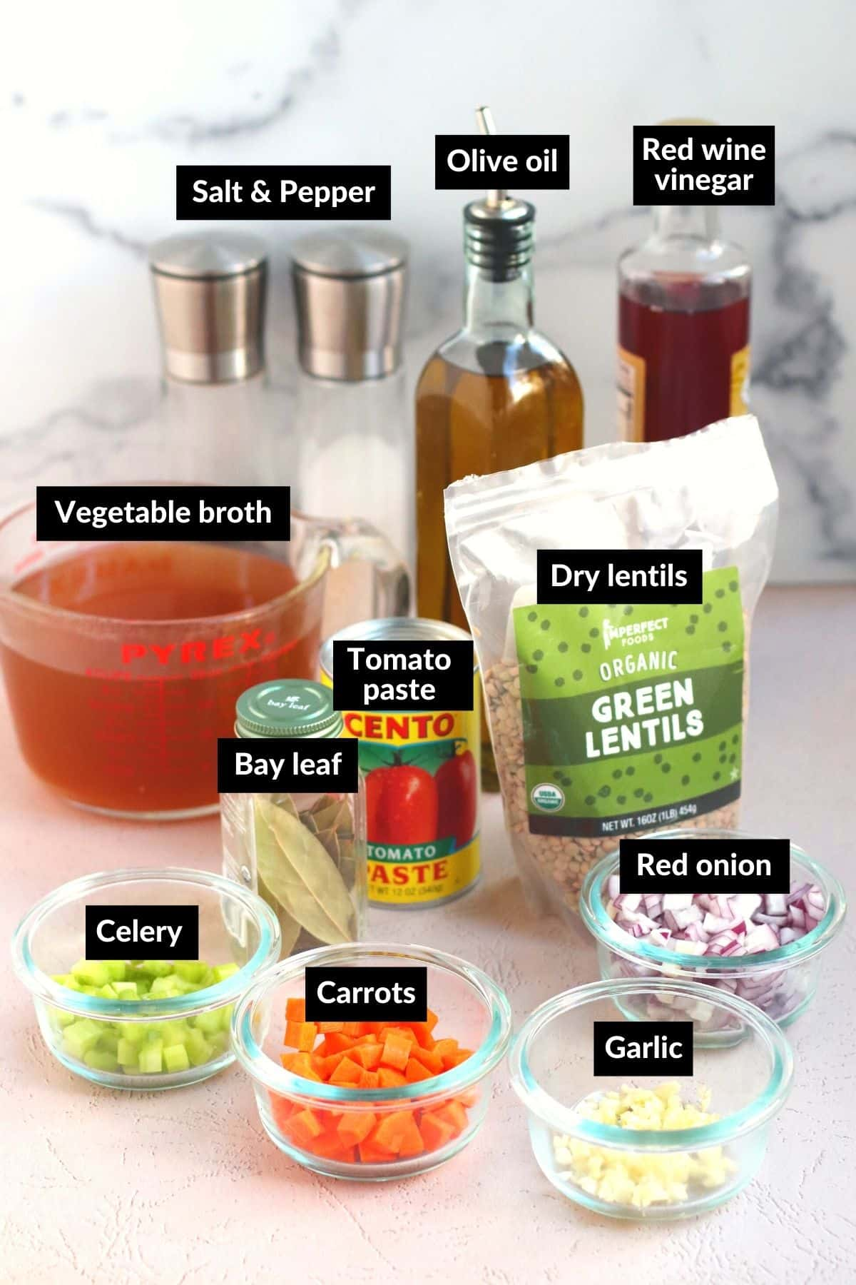Ingredients needed to make this recipe