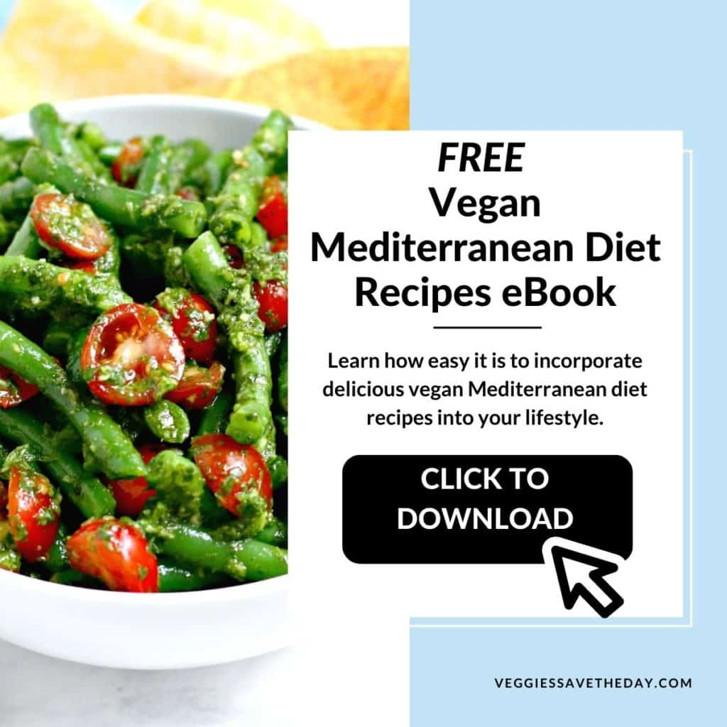 Free Vegan Mediterranean Diet Recipes eBook