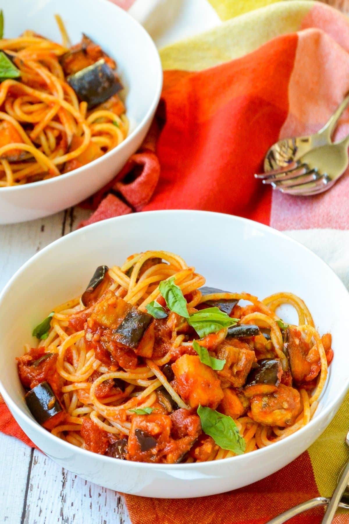 Bowls of pasta