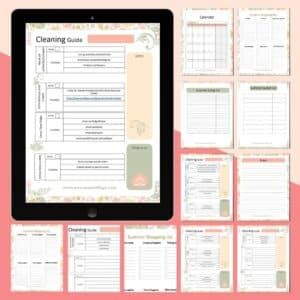 Summer Prep Planner & Cleaning Guide