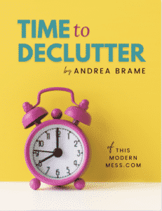 Time to Declutter