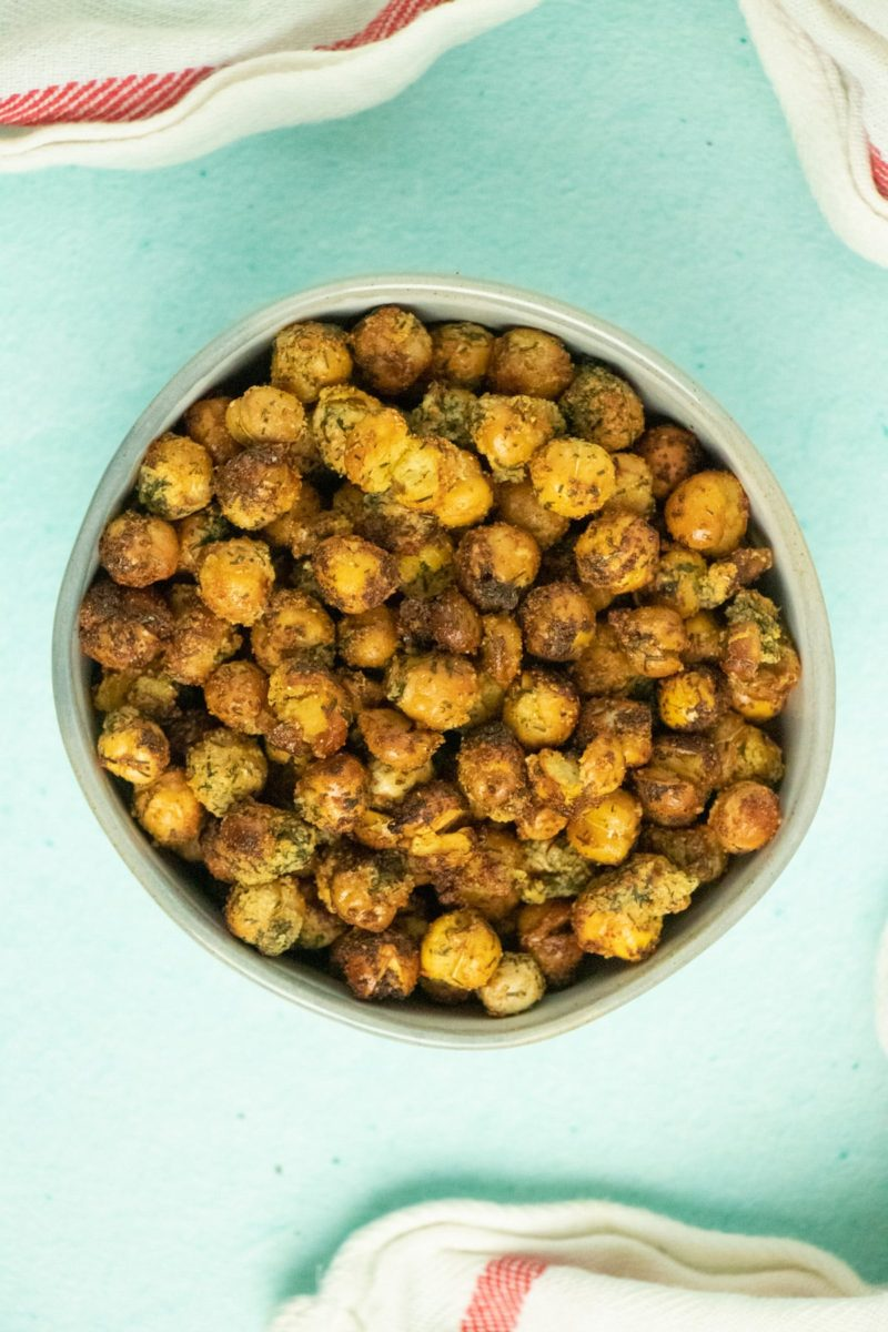 Bowl of Ranch chickpeas